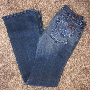 7 FOR ALL MANKIND - A pocket jeans